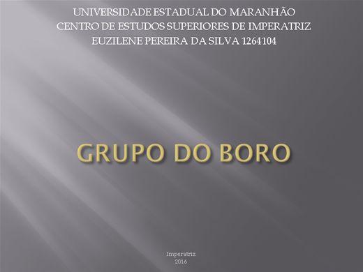 Curso Online de GRUPO DO BORO