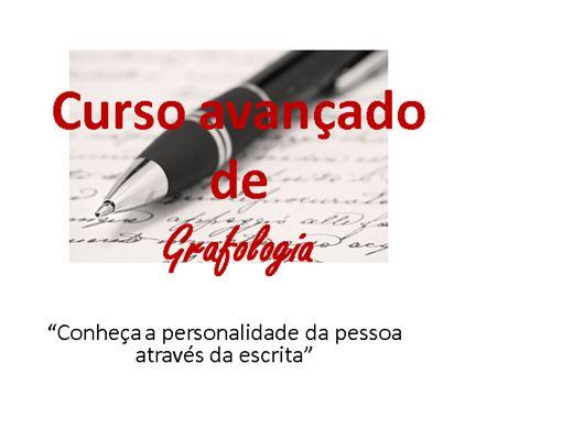 Curso Online de Curso de Grafologia