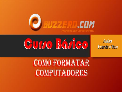 Curso Online de como formatar computadores windows 7
