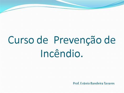 Curso Online de Aprendendo sobre Prevenção de Incêndio