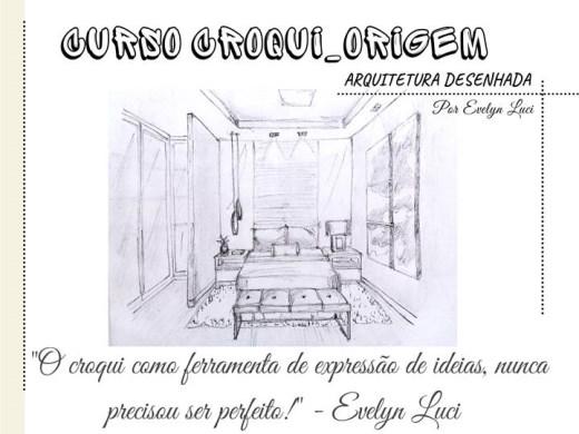 Curso Online de Croquis arquitetônicos