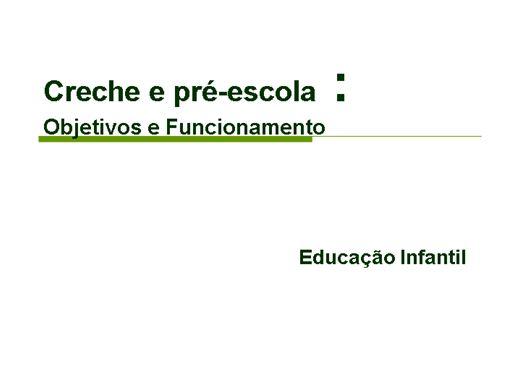 Curso Online de Organização da Educação Infantil