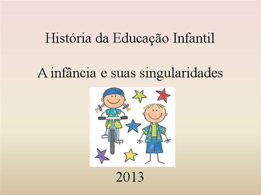 Curso Online de Educação Infantil, organização curricular e peculiaridades.