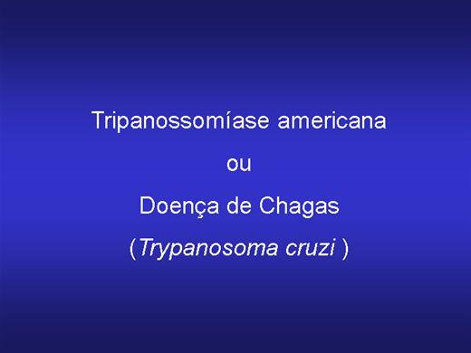 Curso Online de DOENÇA DE CHAGAS