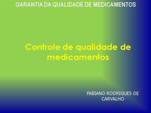 Curso Online de CONTROLE DE QUALIDADE