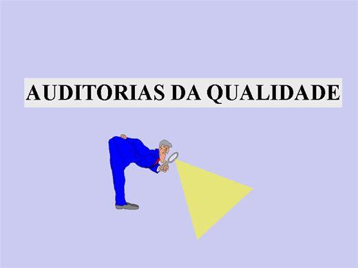 Curso Online de AUDITORIA DA QUALIDADE