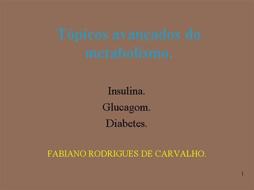 Curso Online de Topicos Avançados Do Metabolismo