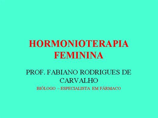 Curso Online de HORMONITERAPIA FEMININA