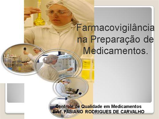Curso Online de INTRODUÇÃO A CONTROLE DE QUALIDADE EM FARMÁCIA DE MANIPULAÇÃO.
