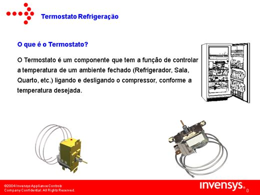 Curso de termostato e suas fun es for Clases de termostatos