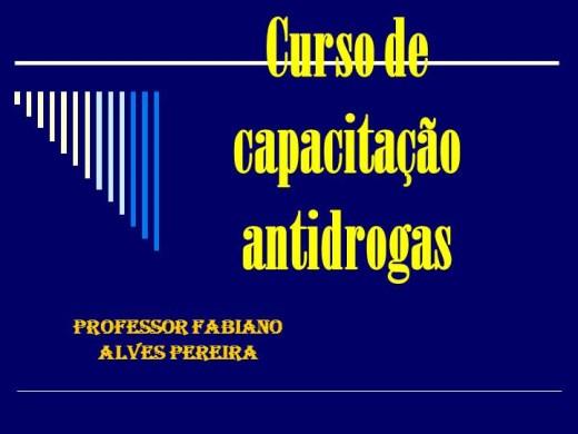 Curso Online de Cuso de Capacitação Antidrogas