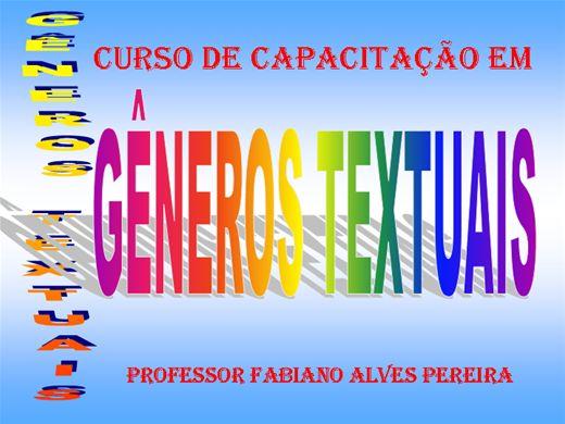 Curso Online de Gêneros Textuais
