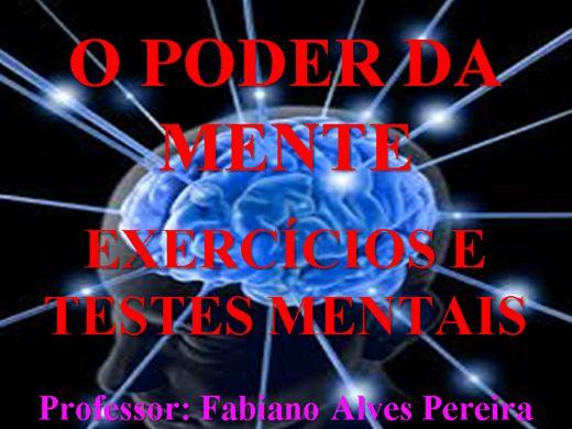 Curso Online de O Poder da Mente - Exercícios e Testes Mentais