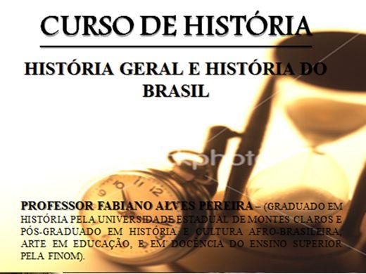 Curso Online de História - História Geral e História do Brasil