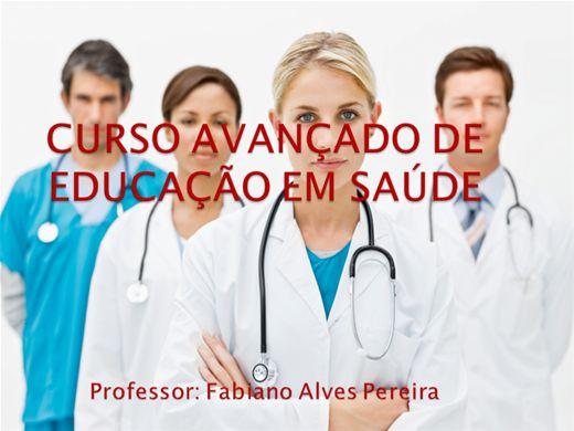 Curso Online de Curso Avançado de Educação em Saúde