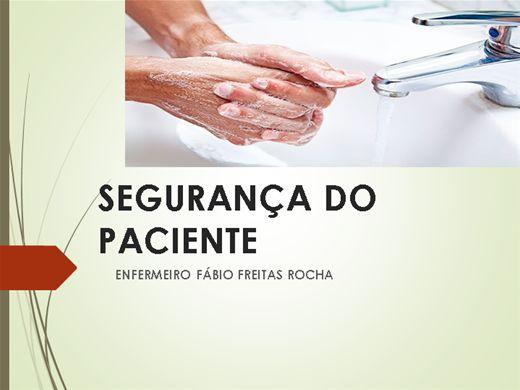 Curso Online de Segurança do Paciente