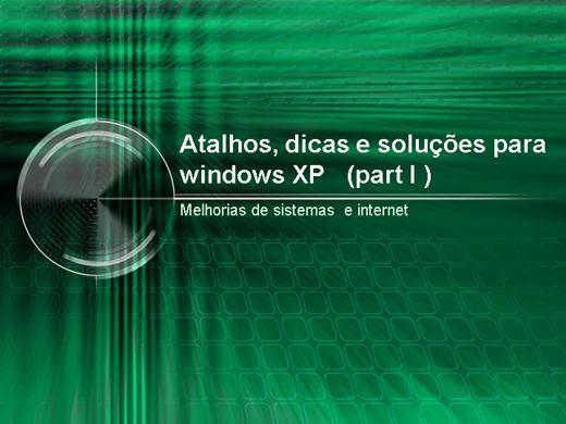 Curso Online de Atalhos, dicas e soluções para windows Xp