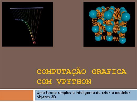 Curso Online de Computação grafica com VPython