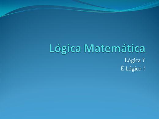 Curso Online de Lógica Matemática