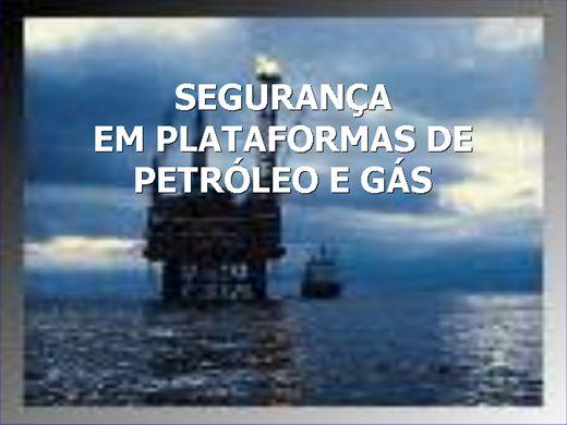 Curso Online de  Segurança em Plataforma de Petróleo