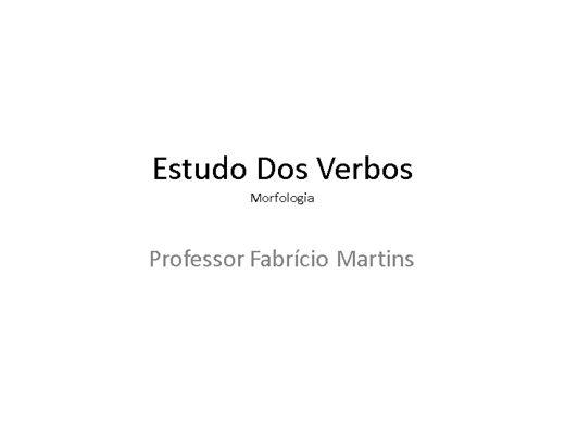 Curso Online de Estudo Dos Verbos