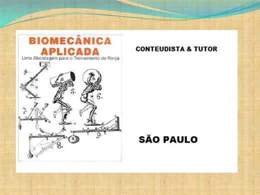 Curso Online de BIOMECANICA APLICADA