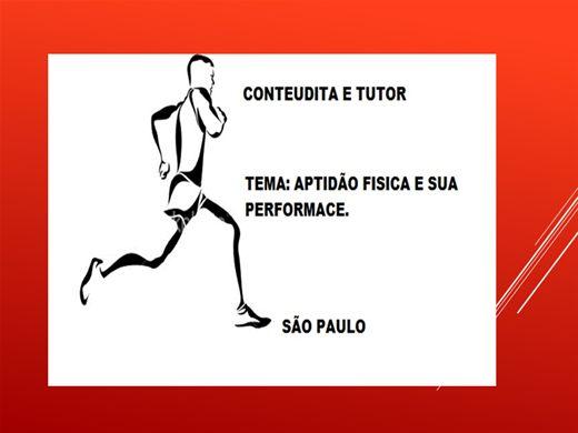Curso Online de APITIDÃO FISICA E SUAS PERFORMACE