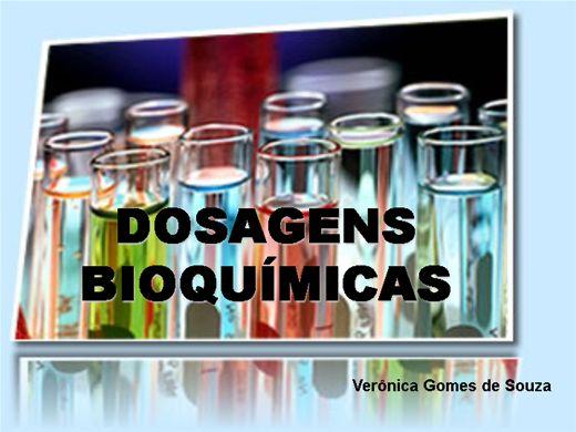 Curso Online de Analises Clinica - Dosagens Bioquimicas