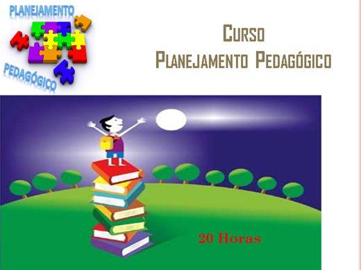 Curso Online de Planejamento Pedagógico