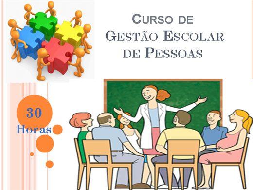 Curso Online de Gestão Escolar de Pessoas