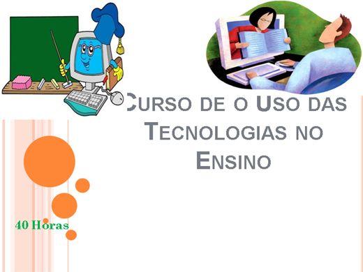 Curso Online de Tecnologias no Ensino
