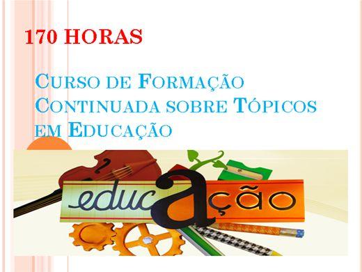 Curso Online de Formação Continuada sobre Tópicos em Educação