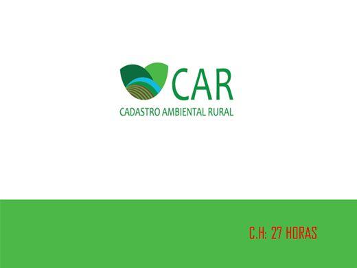 Curso Online de CADASTRO AMBIENTAL RURAL
