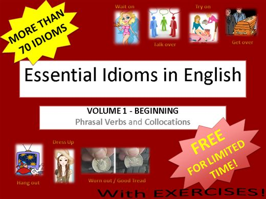 Curso Online de Essential Idioms in English - Volume 1