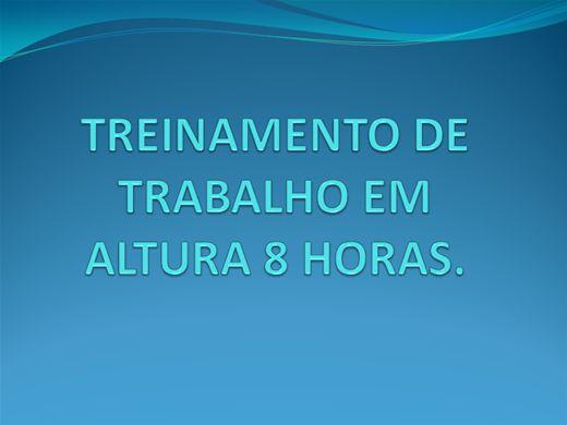 Curso Online de TRABALHO EM ALTURA 8 HRS