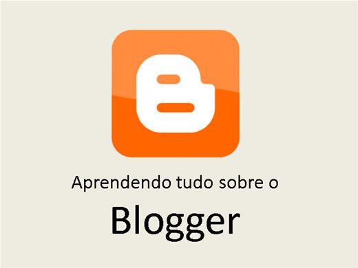 Curso Online de Aprendendo tudo sobre o Blogger