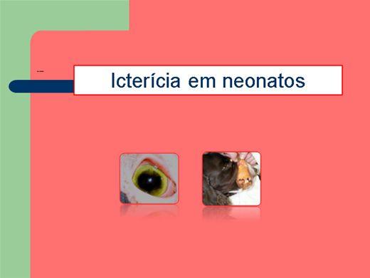 Curso Online de Icterícia em Neonatos