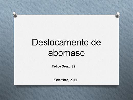 Curso Online de Deslocamento de Abomaso em Bovinos