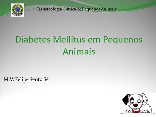 Curso Online de Diabetes mellitus em Cães