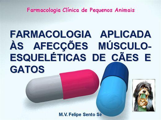 Curso Online de Farmacologia Aplicada às Afecções Músculo-Esqueléticas de Cães e Gatos