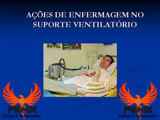 Curso Online de Ações de Enfermagem no Paciênte em Ventilação Mecânica
