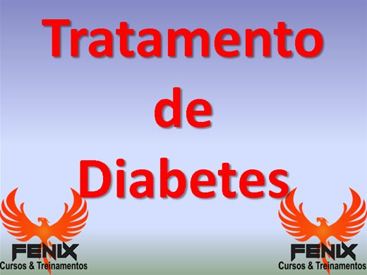 Curso Online de Tratamento de Diabetes