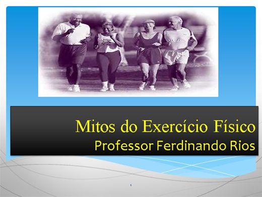 Curso Online de Mitos do Exercício Físico