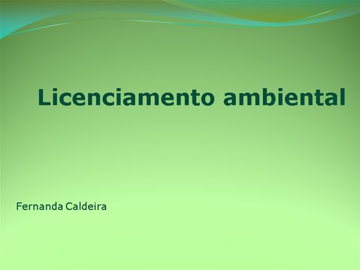 Curso Online de Licenciamento Ambiental