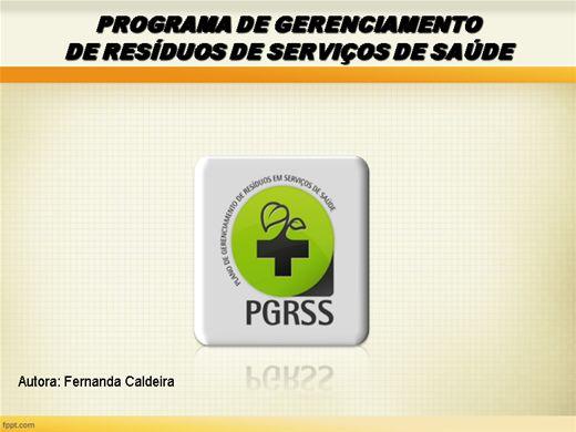 Curso Online de Plano de Gerenciamento de Resíduos de Serviços de Saúde PGRSS