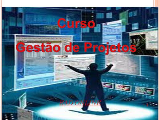 Curso Online de CURSO BASICO DE GESTÃO DE PROJETOS