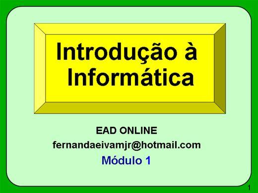 Curso Online de Introdução a Informatica