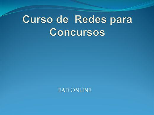Curso Online de Redes de Computadores para Concursos