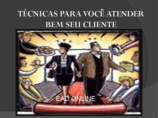 Curso Online de Tecnicas de Atendimento ao Cliente