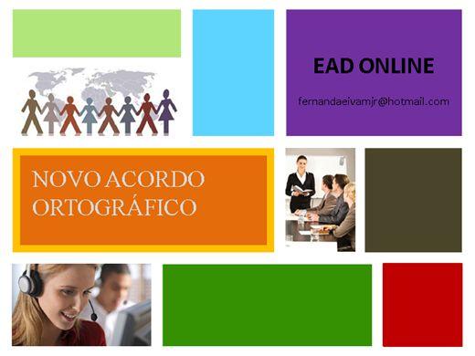 Curso Online de Novo Acordo Ortográfico